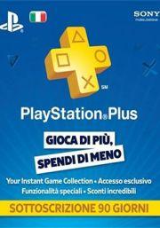 Италия PSN Plus: подписка на 3 месяца