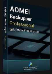 AOMEI Backupper PRO Edition + Lifetime Upgrade (PC)