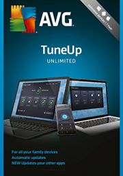 AVG PC TuneUp Unlimited 2018 (1 пользователь, 2 года)