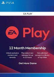EA Play подписка на 12 месяц [PS4 USA]