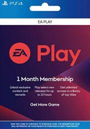 EA Play подписка на 1 месяц [PS4 USA]