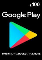 Google Play: подарочная карта на 100 евро