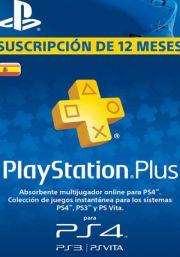 Испания PSN Plus: подписка на 12 месяцев