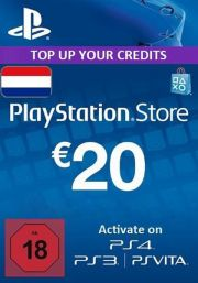 Нидерланды PSN 20 EUR Подарочная Карта