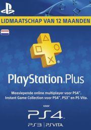 Нидерланды PSN Plus: подписка на 12 месяцев