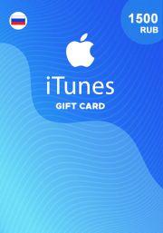 iTunes Россия 1500 RUB Подарочная Карта