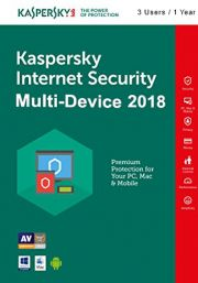 Kaspersky Internet Security Multi-Device 2018 (3 пользователя, 1 год)