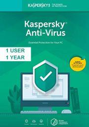 Kaspersky Anti-Virus 2019 (1 пользователь, 1 год)