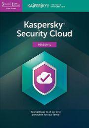 Kaspersky Security Cloud (3 пользователя, 1 год)
