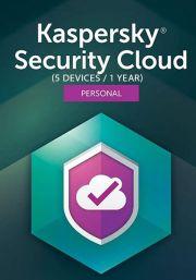 Kaspersky Security Cloud (5 пользователя, 1 год)