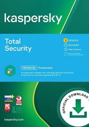 Kaspersky Total Security 2021 (3 пользователя, 1 год)