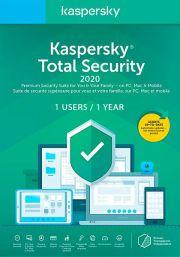Kaspersky Total Security 2020 (1 пользователя, 1 год)