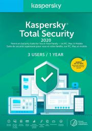 Kaspersky Total Security 2020 (3 пользователя, 1 год)