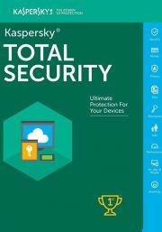 Kaspersky Total Security 2021 (1 пользователя, 1 год)