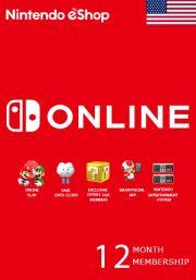 USA Nintendo 12 месяцев