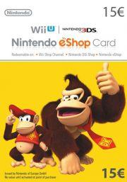 EU Nintendo eShop: подарочная карта на 15 евро