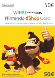 EU Nintendo eShop: подарочная карта на 50 евро