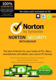 Norton Security (1 пользователь, 1 год)