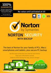 Norton Security (5 пользователей, 1 год)