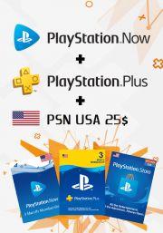 USA PSN 3 - комбинация месяца