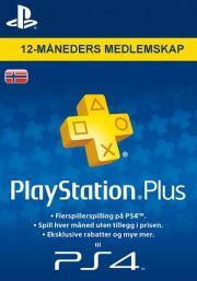 Норвегия PSN Plus: подписка на 12 месяцев