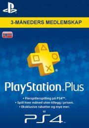 Норвегия PSN Plus: подписка на 3 месяца