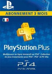 Франция PSN Plus: подписка на 3 месяца
