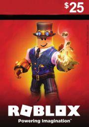 Roblox Игровая карта USD 25