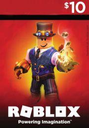 Roblox Игровая карта USD 10