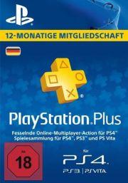 Германия PSN Plus: подписка на 12 месяцев