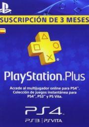 Испания PSN Plus: подписка на 3 месяца