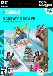 The Sims 4 - Snowy Escape DLC (PC/MAC)