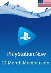 USA PlayStation Now: подписка на 12 месяц