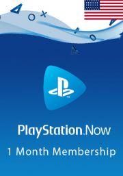 USA PlayStation Now: подписка на 1 месяц