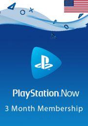 USA PlayStation Now: подписка на 3 месяц