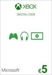 EU Xbox: подарочная карта на 5 евро (Xbox One & 360)