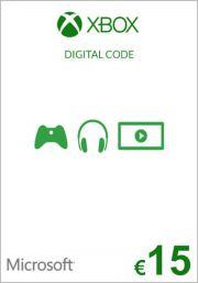 EU Xbox: подарочная карта на 15 евро