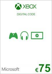 EU Xbox: подарочная карта на 75 евро