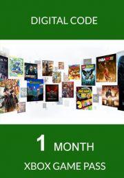 Xbox Game Pass: подписка на 1 месяц (Xbox One)