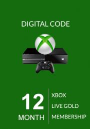 Xbox Live: 12 месяцев, золотой статус (Xbox One & 360)