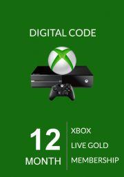 Xbox Live: 12 месяцев (Global)