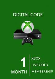 Xbox Live: 1 месяц, золотой статус (Xbox One & 360)