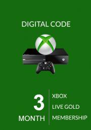 Xbox Live: 3 месяца (Global)