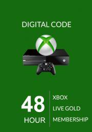 Xbox Live: 48 часов, золотой статус (Xbox One & 360)