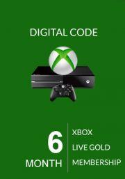 Xbox Live Gold 6 месяца (Global)