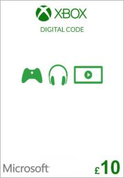 UK Xbox 10 фунта подарочная карта (Xbox One & 360)