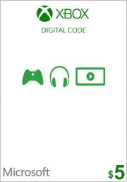 USA Xbox 5 долларов подарочная карта (Xbox One & 360)