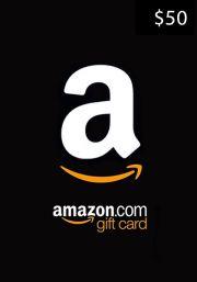 USA Amazon $50 Подарочная Карта