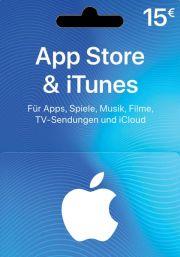iTunes Германия 15 EUR Подарочная Карта