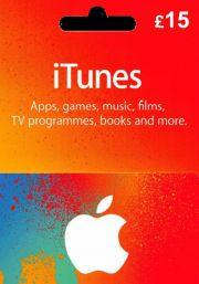 iTunes UK 15 GBP Подарочная Карта